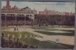 Baseball Game In West Side Ball Grounds Chicago. Football. Postally Used In Chicago  1912y. A584 - Baseball