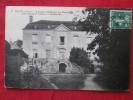 Nocé (Orne) Ancien Château De Barville Fin Du XIVe Siècle Devenu Notariat Carte Timbré - Castles