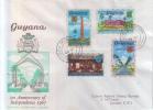 Guyana - 1st Anniversary Of Independence 1967 - Guyane (1966-...)