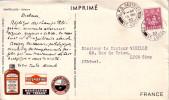 ST LUCIE - G.P.O CASTRIES - IONYL - PLASMARINE - MERINOL- CROISIERE ATLANTIQUE PLASMARINE 1951-1952 - SOLFATARE - PLIURE - St.Lucia (1979-...)