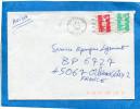 MARCOPHILIE-Lettre Réunion-pour Françe-cad St André-1991-oblitération Double Ondulations - Reunion Island (1852-1975)