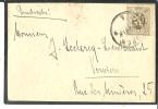 Belgique - Cob 280 Sur Lettre - Cachet De Eupen Vers Verviers - 1922-1927 Houyoux