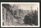 Cartolina Napoli, Sul Corso Vittorio Emanuele, Parco Grifeo - Napoli (Naples)
