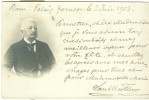 SAU MARTINO,PALAZZO FARNESE,ROMA, FOTO-CARTOLINA,INVIATA 1903 A CLOTILDE TERWANGNE, STORIA, - Foto Dedicate