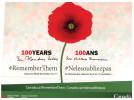 (444) Canada - WWI Centenary - Poppies - Weltkrieg 1914-18