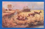 Malerei; Landschaft; Jagd; Rehe; 1913 - Jagd