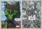 30 Vignettes Marvel : MARVEL HEROES De 2005 à Choisir Parmi 76 Vignettes - Edizione Francese