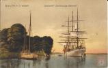 Allemagne - Carte Postale PAQUEBOT - GROSSHERZOGIN ELISABETH - Seepost 1929 - Piroscafi