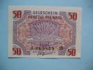 50 Pfennig - 1944 - Numéro A 069859 - [ 5] 1945-1949 : Occupazione Degli Alleati