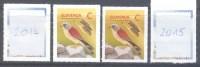NEU NEW Fauna Birds 2014 & 2015 REPRINT NEW PERFORATION DIFF.PAPER Falcon Falke Faucon: Lesser Kestrel (Falco Naumanni) - Adler & Greifvögel