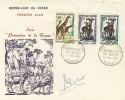 ENVELOPPE FDC 1960 NIGER # PREMIER JOUR  SERIE PROTECTION DE LA FAUNE # SIGNATURE ORIGINALE DU GRAVEUR DES TIMBRES - Niger (1960-...)