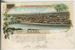 Gruss Aus Basel V.1901 Klein Basel (11704) - BS Basel-Stadt