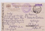 1918 W.W.I  FELDPOST -13 K.W. ARMÉE KORPS - Alemania