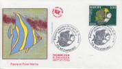 Enveloppe 1er Jour    MAYOTTE    Poisson  Empereur    1998 - Mayotte (1892-2011)