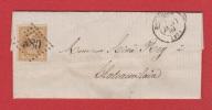 Lettre  //  De Bourgoin //  Pour Châteauvilain // 7 Janvier 1869 - 1849-1876: Période Classique