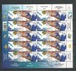 2001 USED Finland, Ski Sheet - Finland