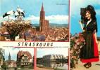 Photo Cpsm Cpm 67 STRASBOURG. Multivues 1988 - Strasbourg