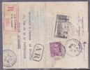 France Type Marianne De Gandon Sur Lettre - 1945-54 Marianne Of Gandon