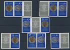 Lot DDR ZD Michel No. 1592 - 1593 /  W Zd 227 - 232 ** postfrisch