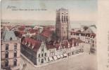 Veurne - Furnes - Grand'Place Avec La Tour De St Nicolas - Markt En Sint-Niklaaskerk - Dr Trenkler 1904 - 27140 - Veurne