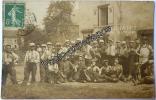 CPA Carte Photo Militaire Frontière Village 1908 CRUSNES Meurthe & Moselle 54 - Autres Communes