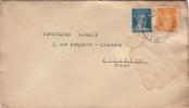 Lettre Galata Turquie Pour Paris 1935 - 1921-... Republiek