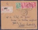 France Type Marianne De Gandon Sur Lettre - 1945-54 Marianna Di Gandon