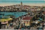 Carte Postale Ancienne De : CONSTANTINOPE-Le Pont De GALATA - Turquie