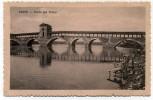 Pavia -  Ponte Sul   Ticino  - Lavandaie +  Cachet  Posta  Estera  Bologna - Pavia