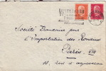 Lettre Wiesbaden Pour La France 1933 - Allemagne