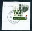 AUSTRALIA  -  2014  First World War  70c  Sheet Stamp  Used CDS On Piece As Scan - 2010-... Elizabeth II