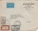 Lettre Damas Syrie Pour La France 1950 - Syrie