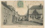 4 Vailly Sur Sauldre  Route D' Aubigny   Timbrée 1905 Edit Sarsat - Andere Gemeenten