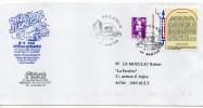 1997--Lettre Avec Tp Déclaration Des Droits Homme Et Du Citoyen+ Complt Mar Bicentenaire-cachet Nantes-Philatélie - Marcophilie (Lettres)