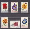 1971 - Fleurs  Michel No 2940/2945 Et  Y&T No 2614/2619 - 1948-.... Repúblicas