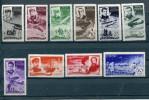 RUSSIA YR 1935,SC C58-67, MI 499-508,MNH/MLH **/*,FAMOUS CHELUSKIN RESCUE - 1923-1991 USSR