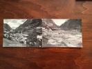 (Valle Del Piave) LONGARONE - Dopo Il Disastro Della Notte 9.10.1963 - Cartolina Doppia FG BN NV - Italie
