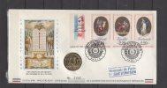 Enveloppe FDC Philatelique Numismatique - Philexfrance 89 - 14 / 07 / 1989 - 1980-1989