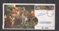 """Enveloppe FDC Philatelique Numismatique -  """" Bicentenaire Du Musée Du Louvre """" - 20 / 11 / 1993 - FDC"""