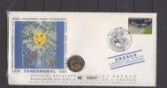 """Enveloppe FDC Philatelique Numismatique -  """"  Unesco - Tchernobyl """" - 26 / 04 / 1991 - FDC"""