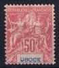 OBOCK:  Yv Nr 42 MH/*, Avec  Charnière , Mit Falz, - Obock (1892-1899)