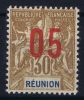 REUNION   Yv Nr 76 A MH/*, Avec  Charnière , Mit Falz, Chiffres Espaces - Ongebruikt