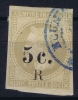 REUNION   Yv Nr 5 Obl Used  Some Paper On Back - Reunion Island (1852-1975)