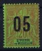 St. Pierre Et Miquelon  Yv Nr 97 A MH/*, Avec  Charnière , Mit Falz, Chifres Espaces 2 Mm - St.Pierre & Miquelon