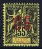 St. Pierre Et Miquelon  Yv Nr 100 A MH/*, Avec  Charnière , Mit Falz, Chifres Espaces 2 Mm - Nuovi