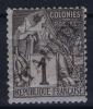 TAHITI  Yv Nr 1 MH/*, Avec  Charnière , Mit Falz, Descandante FAUX Has A Fold - Unused Stamps