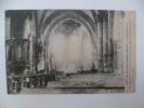 MINAUCOURT:Aspect Intérieur De L'Eglise,après Le Bombardement.Grande Guerre 1914.15. - France