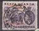 KENYA - UGANDA - ELEFANTES. USADO - USED. - Elefantes