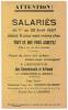 1957 // LIGNIERES EN BERRY // PUB // 5 % - Publicités