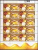 New Neu 2015 Gastronomy S/S Mint MNH **: Fauna Bee Bees Honey; Traditional Slovene Breakfast; Milk Apple Bread Butter - Slovenia